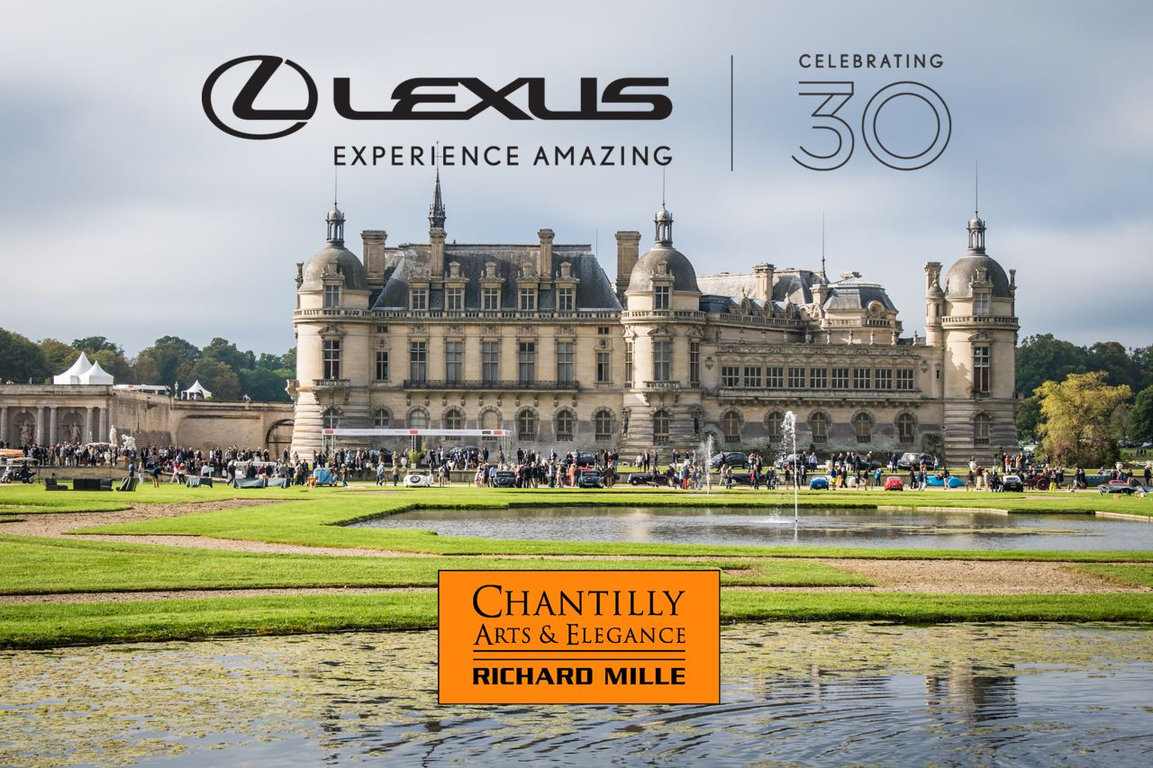 LEXUS ŚWIĘTUJE SWOJE 30-LECIE PODCZAS PIĄTEJ EDYCJI CHANTILLY ARTS & ELEGANCE RICHARD MILLE