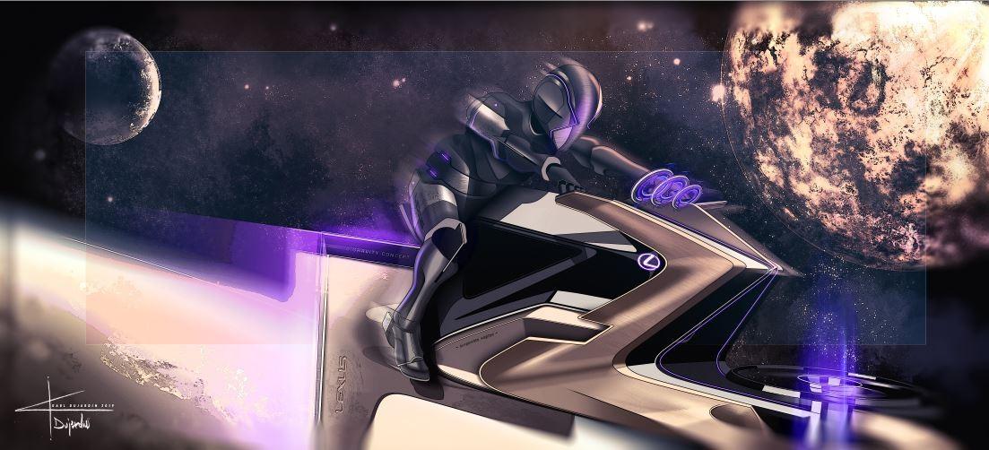 Lexus vytvořil koncept měsíčního vozidla