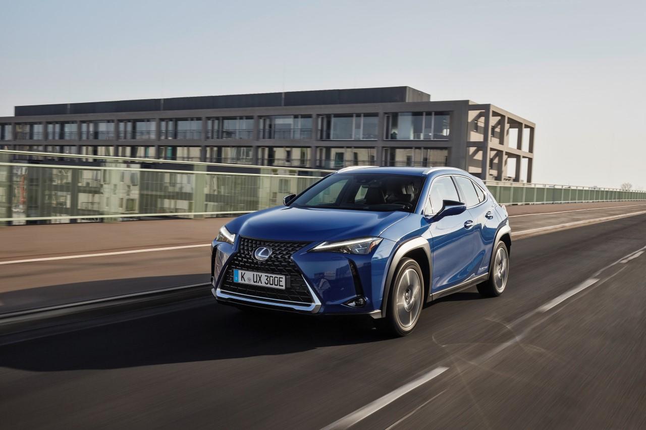 Elektrický UX 300e ohlasuje nový míľnik v tichej revolúcii značky Lexus