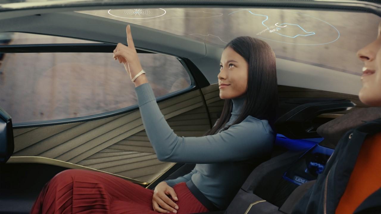 A Lexus és a TED újragondolták a jövő önvezető járművét