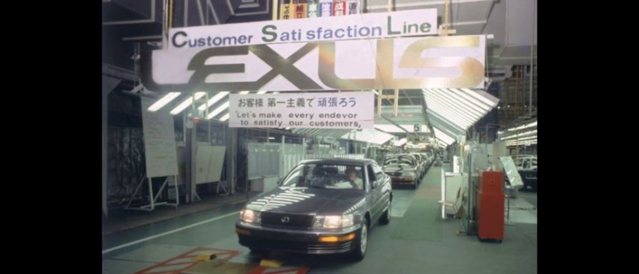 História značky Lexus