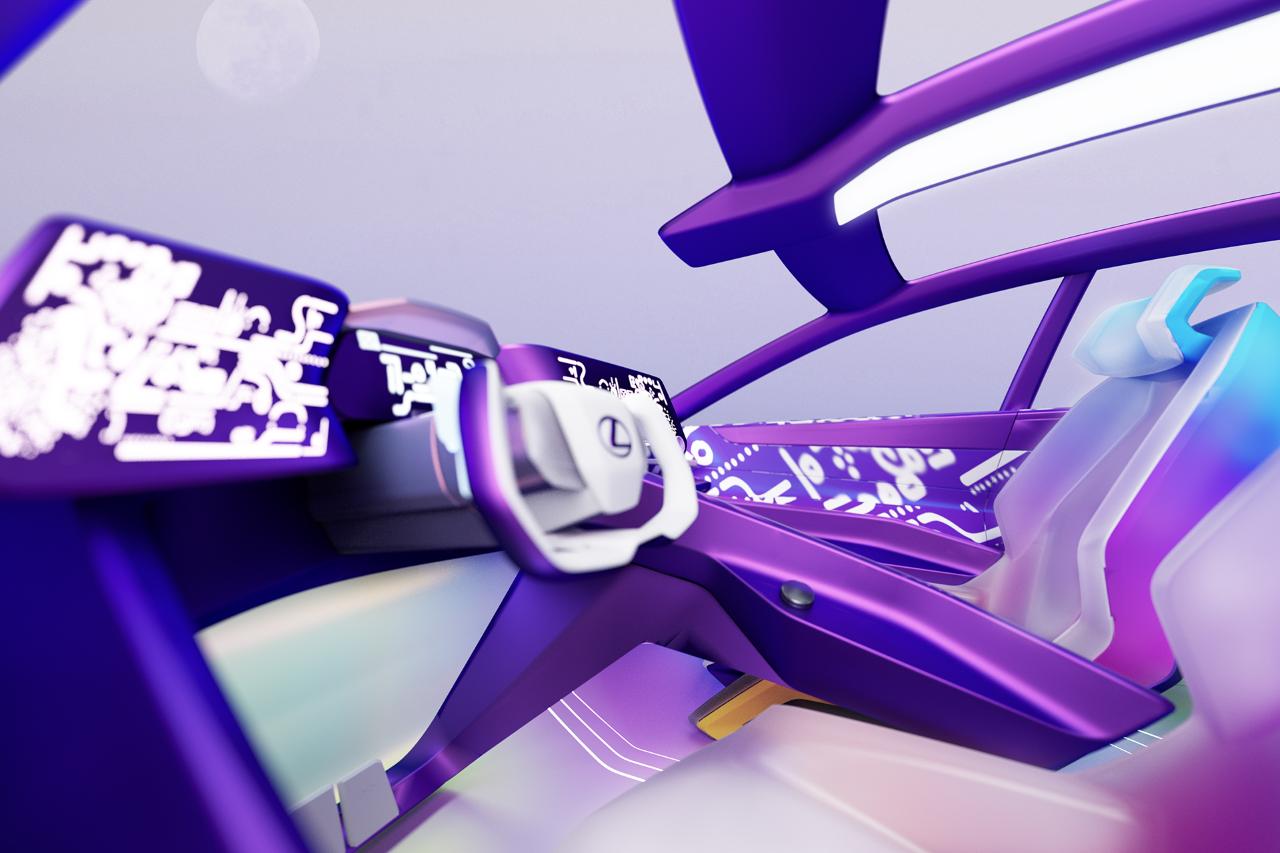 Művészek és formatervezők alkottak virtuális utasteret a Lexus LF-Z Electrified tanulmányautóhoz
