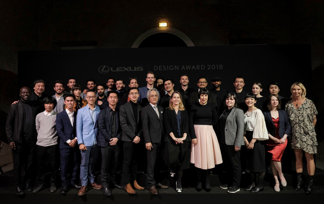Nagroda Grand Prix konkursu Lexus Design Award 2018 dla projektantów przyszłości