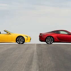 LEXUS LC CONVERTIBLE AND COUPE