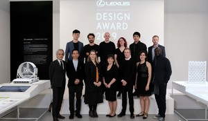 GRAND PRIX KONKURSU LEXUS DESIGN AWARD 2019 PRZYZNANA PODCZAS MILAN DESIGN WEEK