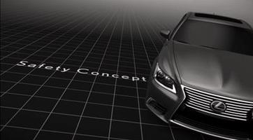 2012 Lexus LS Safety Concept