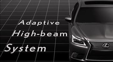 2012 Lexus LS Adaptive High Beam System