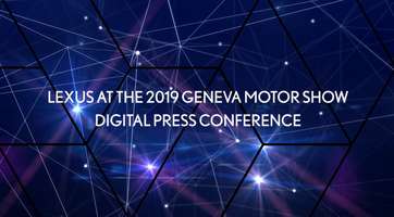 Lexus Press Conference Geneva 2019