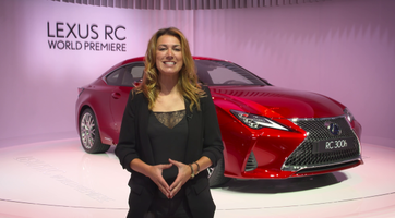 The new Lexus RC
